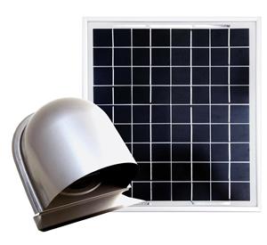 ソーラー深型150換気装置,solar ventilator