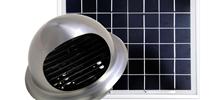 創エネソーラー換気扇,solar ventilator